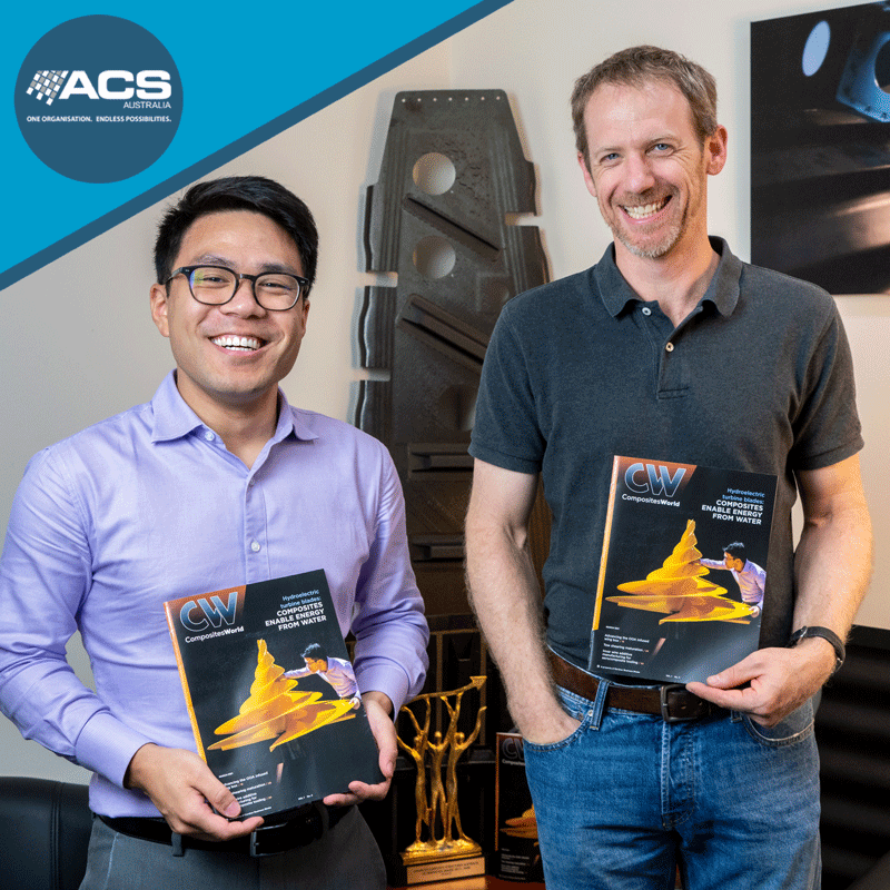 Adrian-Chiem-Johannes-Straub-Engineers-Front-Cover-Composites-World-March-2021-Kinetic-Adanced-Composite-Structures-Australia