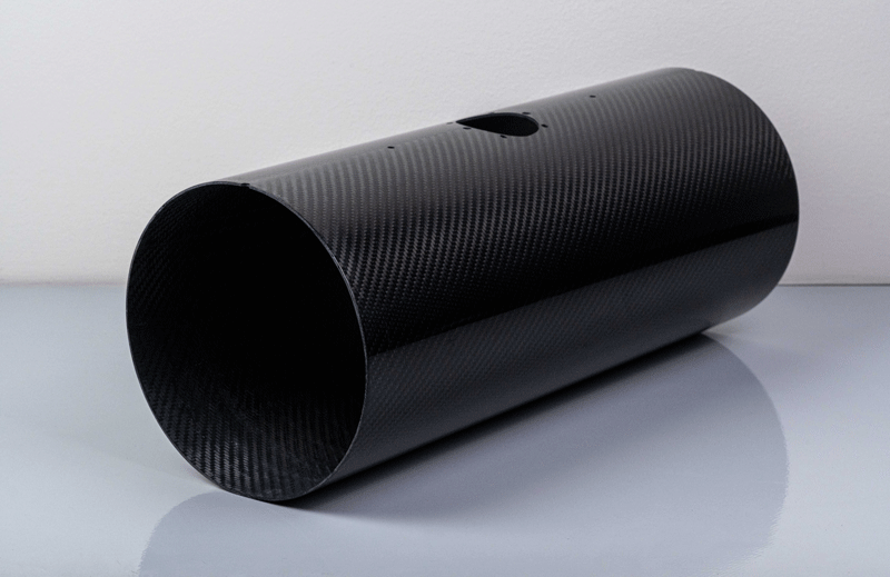 Carbon Fibre Faraday Shield Tube Housing Advanced Composite Structures Australia